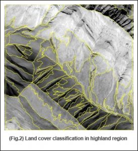 Landcover classification in highland region